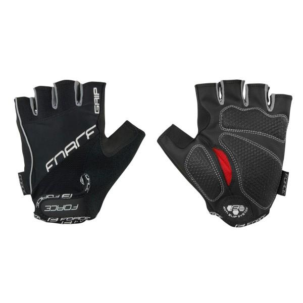 65a634d3d rukavice FORCE GRIP gel, černé