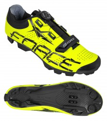 tretry FORCE MTB CRYSTAL, fluo 45